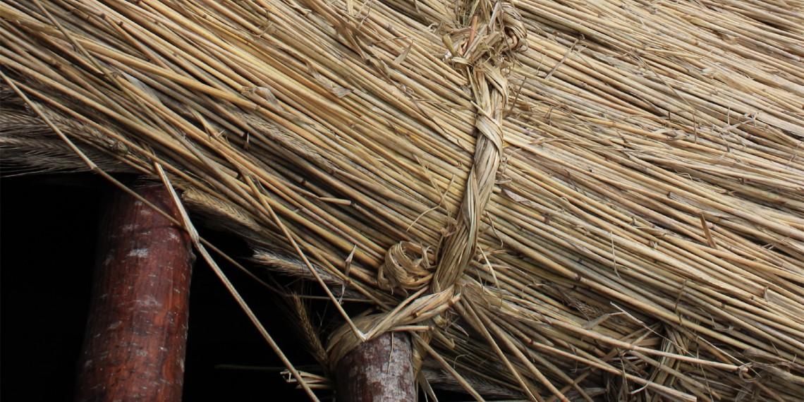 Chaumière de Granier ©Art et traditions du chaume