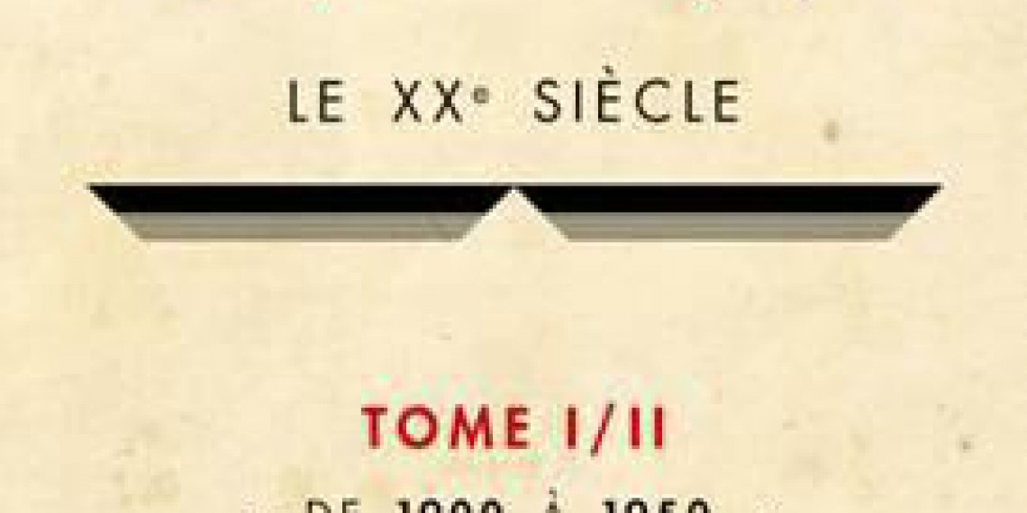 Histoire de l'écriture typographique - Le XXe siècle I/II : de 1900 à 1950