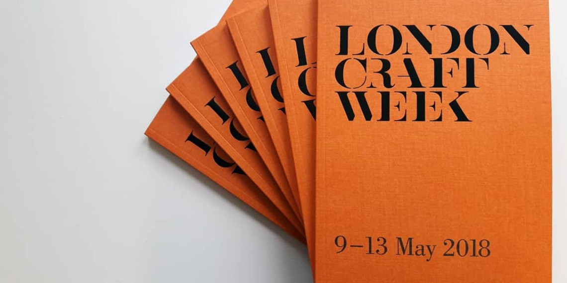 London Craft Week 2018