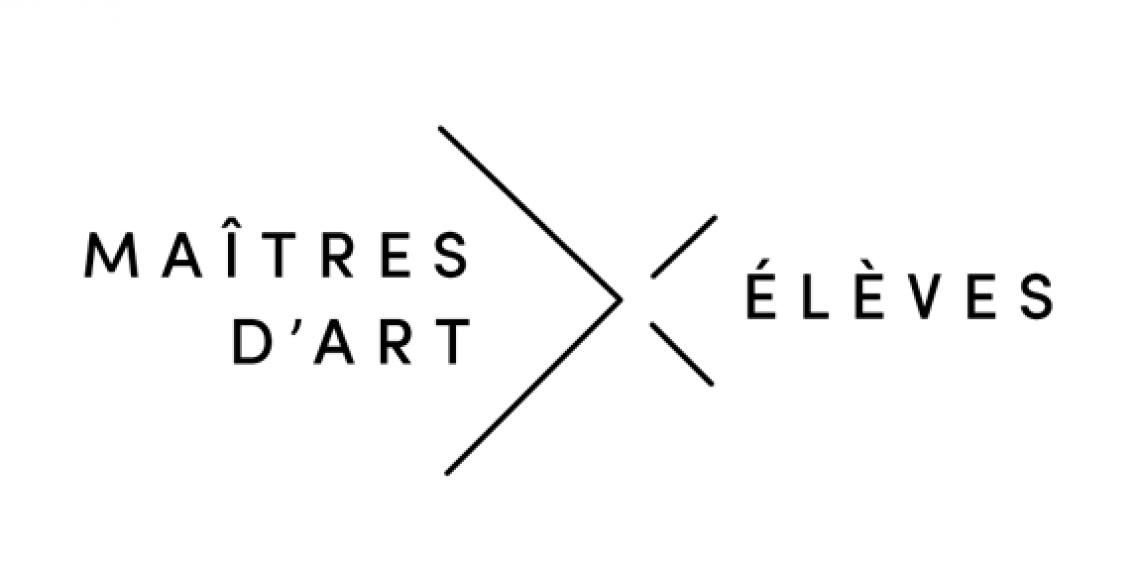 logo du dispositif maitres d'art - éléves.