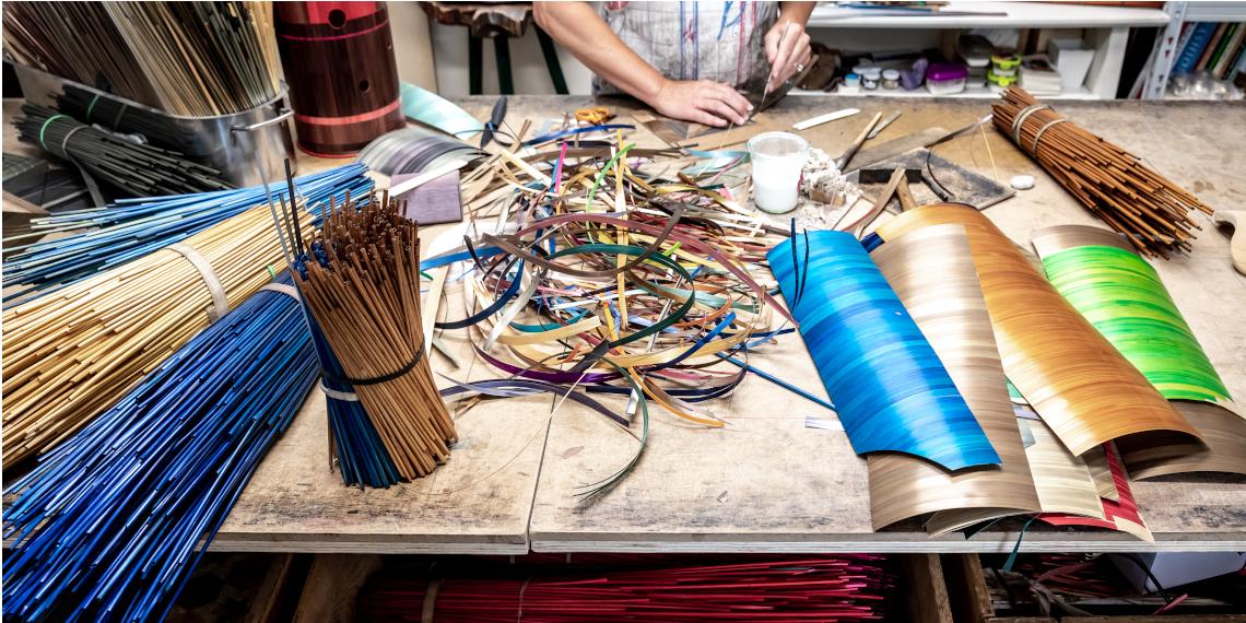 Atelier Valérie Colas des Francs © Julien Cresp