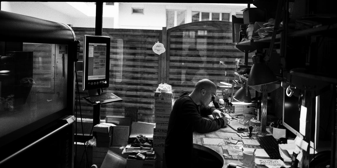 Atelier Creanog, Clément Vinot-Battistoni © Edouard Elias
