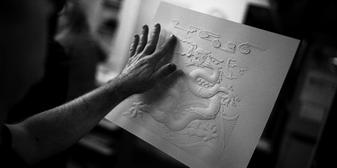 Atelier Creanog, Laurent Nogues © Edouard Elias
