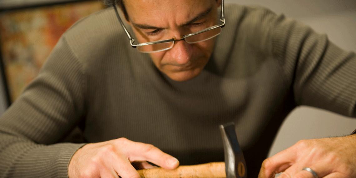 Le Maître d'art Segre Amoruso © Augustin Détienne