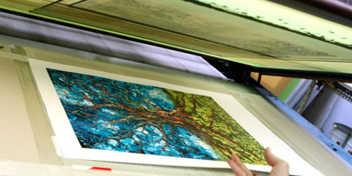 Atelier Eric Seydoux Sérigraphe © Magali Delporte-Picturetank INMA