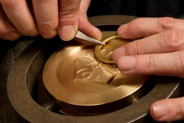 Atelier de gravure © Monnaie de Paris