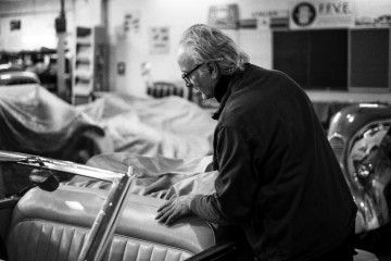 Le Maître d'art Hubert Haberbusch © Edouard Elias