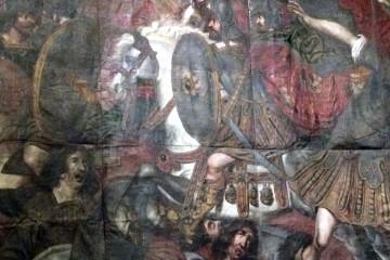 Bataille de Gelboé, Musée National de la Renaissance