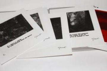 """""""Le temps de vivre"""", Sérigraphie, 20X20 cm, édité à 10 exemplaires, 2011 ©  Matthieu PERRAMANT"""