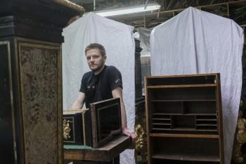 Tristan Desforges, Elève de Maître d'art ©Eric Chenal