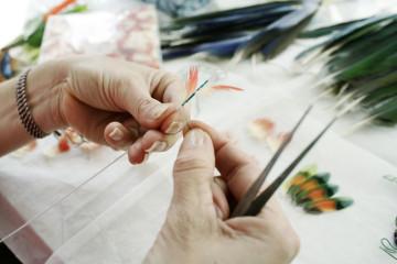 Nelly Saunier, Maître d'art © Magali Deporte