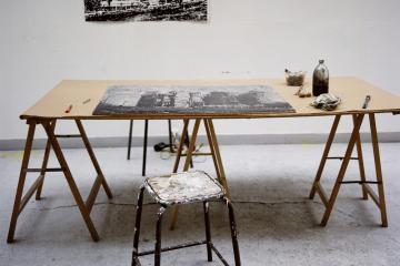 Atelier Michael Woolworth © Sophie Brandstrom