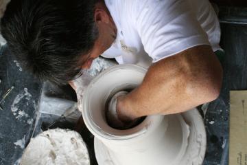 Patrice Cloud, Maître d'art © Sèvres - Cité de la Céramique