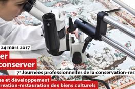 7e Journées professionnelles de la conservation-restauration