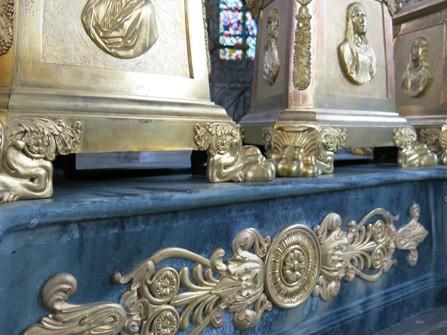 Bronze d'autel cathédrale de Meaux © Anne-Cécile Viseux
