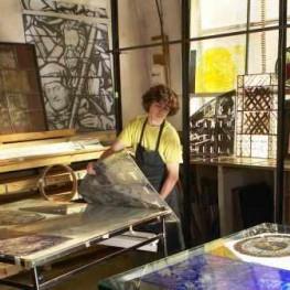 Atelier Jean-Dominique Fleury Peintre verrier © Alexis Lecomte INMA
